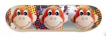 Siebdruck Koons - Monkey Train Skate Deck