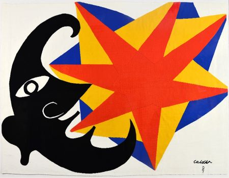 Keine Technische Calder - Moon and Star Tapestry