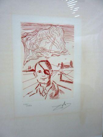 Stich Dali - Moshe Dayan (Five Famous Heads)