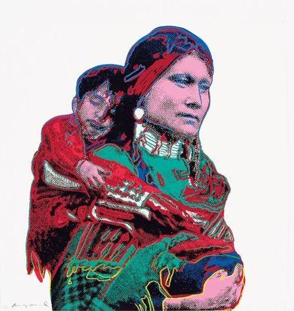 Siebdruck Warhol - Mother and Child (FS II.383)