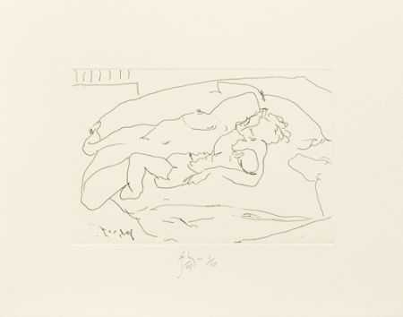 Stich Flanagan -  Mother lying with child