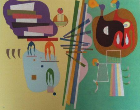 Lithographie Kandinsky - Mouvement