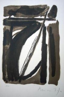 Lithographie Van Velde - MP 124