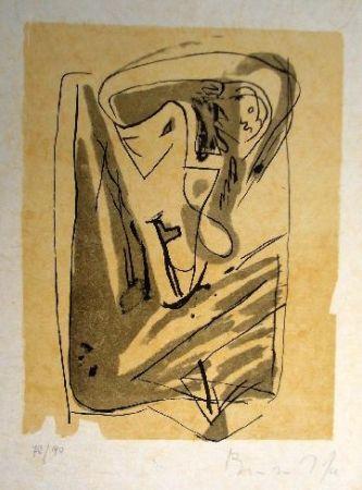 Lithographie Van Velde - Mp 185