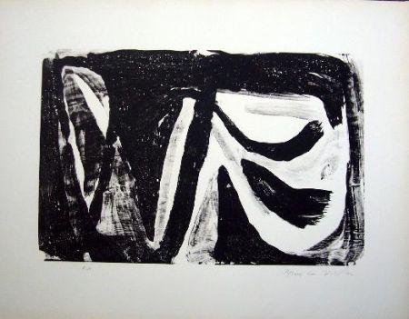 Lithographie Van Velde - MP 20