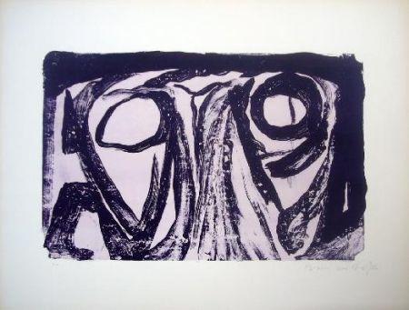 Lithographie Van Velde - MP 24