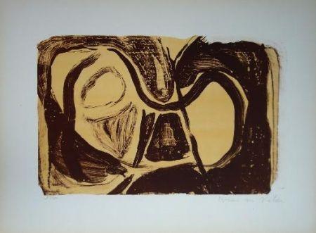 Lithographie Van Velde - MP 26