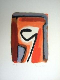 Lithographie Van Velde - Mp 264