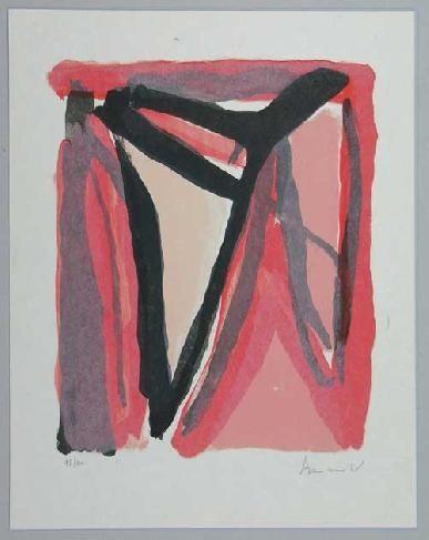 Lithographie Van Velde - Mp 294
