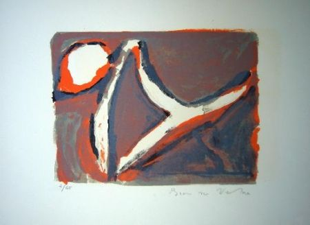 Lithographie Van Velde - MP 51