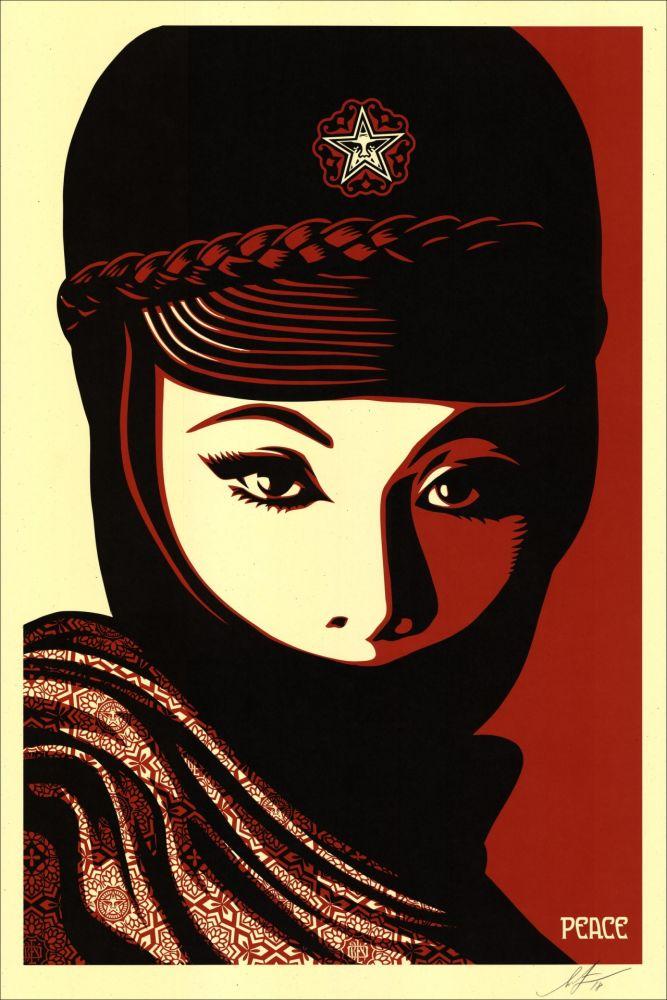 Siebdruck Fairey - Mujer Fatale