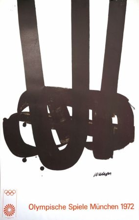 Lithographie Soulages - Munich 72