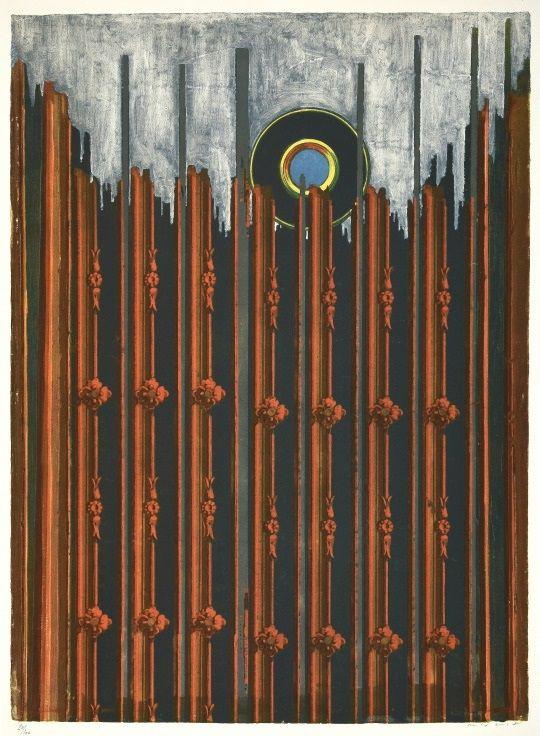 Siebdruck Ernst - Mur et Soleil