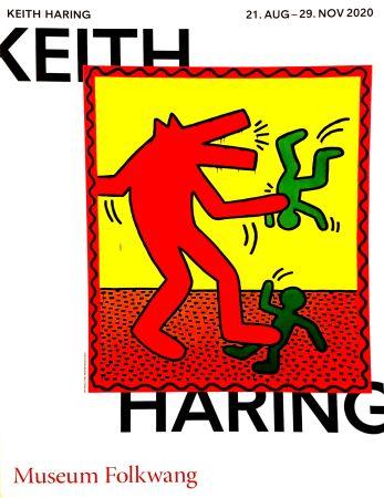 Plakat Haring -  Musée Folkwang de ESSEN