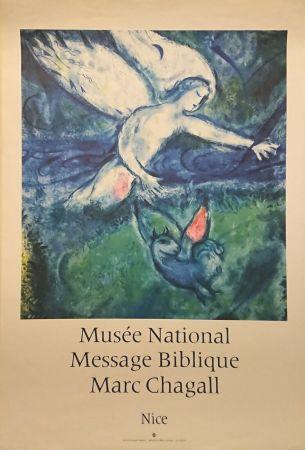 Plakat Chagall - '' Musée National Message Biblique ''