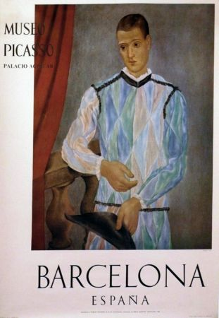 Plakat Picasso - '' Museo Barcelona ''
