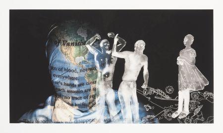 Digitale Druckgrafik Malani - My speech is silence...