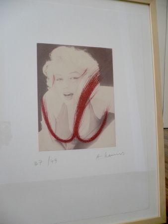 Radierung Rainer - Mythos Marilyn