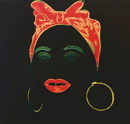 Siebdruck Warhol - MYTHS: MAMMY FS II.262
