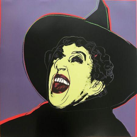 Siebdruck Warhol - Myths: The Witch