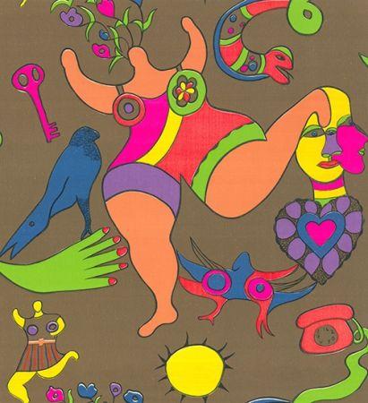 Siebdruck De Saint Phalle - Nana