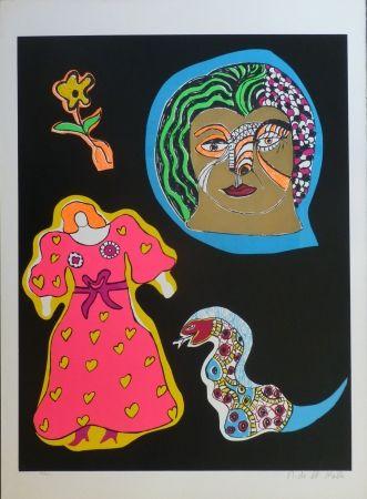 Siebdruck De Saint Phalle - NANA POWER