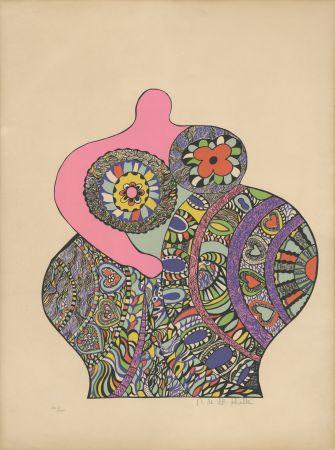 Siebdruck De Saint Phalle - Nana Power : Nana II