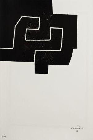 Lithographie Chillida - NANCY