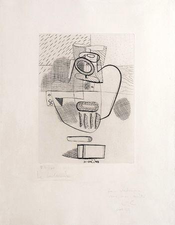 Stich Le Corbusier - Nature Morte