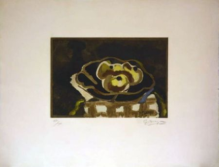 Radierung Braque - Nature morte