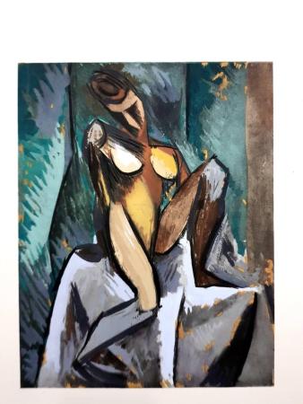 Lithographie Picasso (After) - Nature Morte à la Pipe
