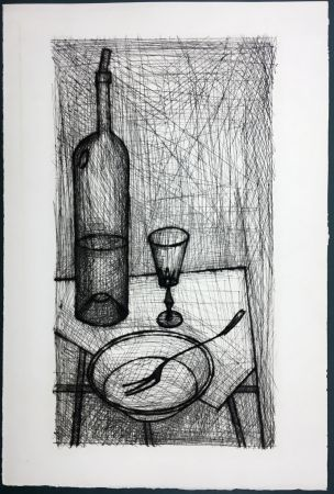 Radierung Buffet - Nature morte pour Recherche de la Purété (1953)