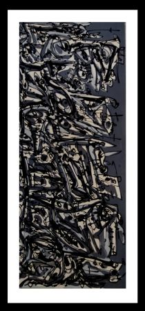 Lithographie Saura - NEGRO