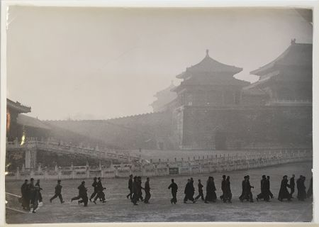 Fotografie Cartier Bresson - New Army Day Parade in Forbidden City