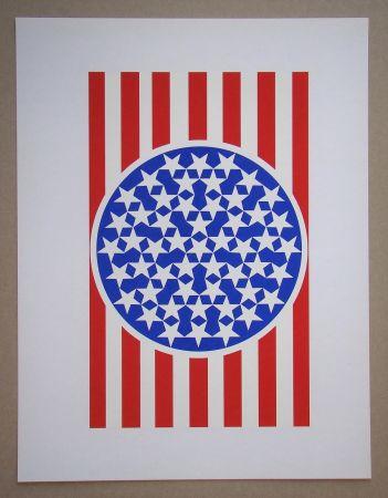 Siebdruck Indiana - New Glory Banner