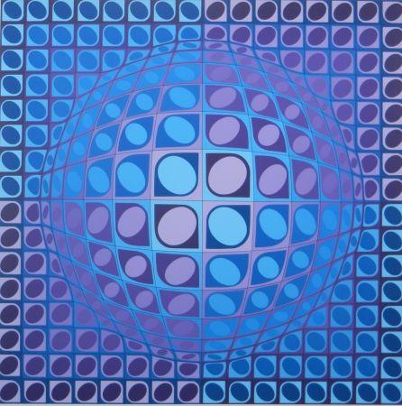 Siebdruck Vasarely - No title