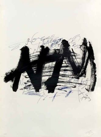 Lithographie Tapies - NOCTURN MATINAL