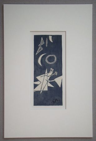 Lithographie Braque (After) - Nocturne