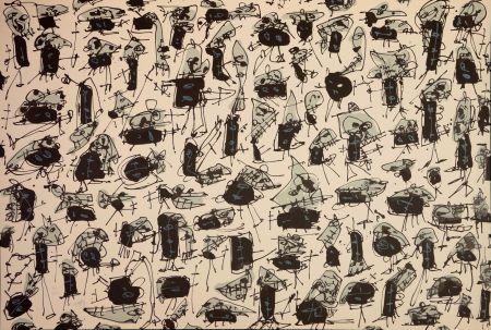 Lithographie Saura - Nombre de curés, Planches 5