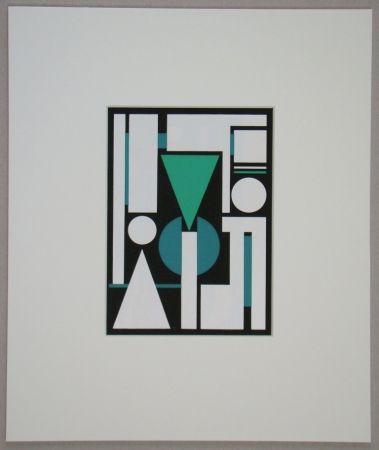 Siebdruck Herbin - Non, 1951