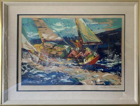 Siebdruck Neiman - North Sea Sailing