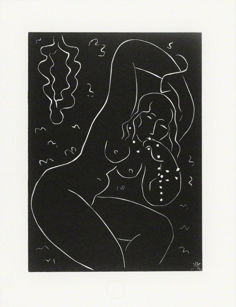 Linolschnitt Matisse - Nu au Bracelet