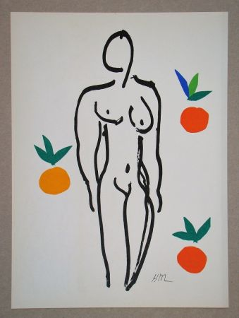 Lithographie Matisse (After) - Nu Aux Oranges - 1953