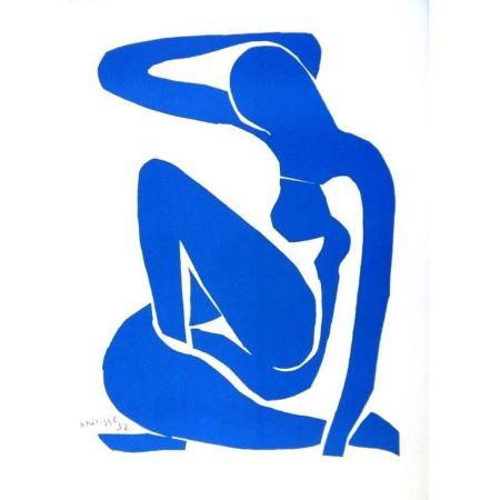 Lithographie Matisse - Nu Bleu
