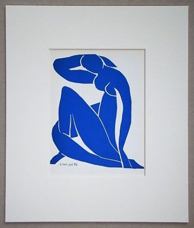 Lithographie Matisse (After) - Nu bleu - 1952