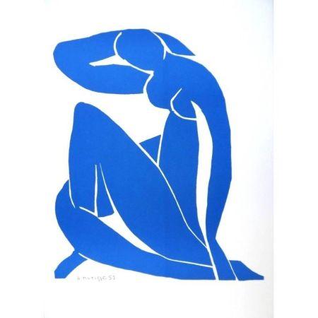 Lithographie Matisse - Nu Bleu endormi