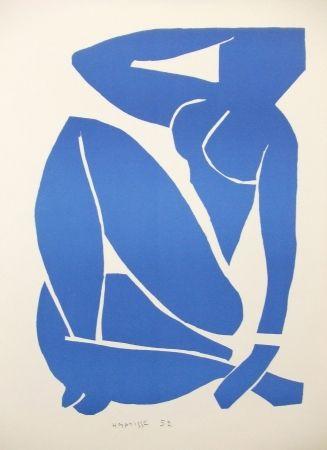 Lithographie Matisse - Nu bleu (III)