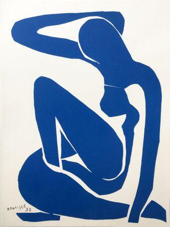 Lithographie Matisse - NU BLEU III (1952/1958)