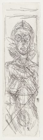 Stich Giacometti - Nude In Profile