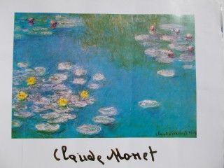 Plakat Monet - Nympheas